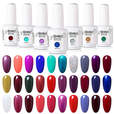 Ukiyo 15ML UV LED Gel Polish Varnish Lacquer No Wipe Top Base Coat 02