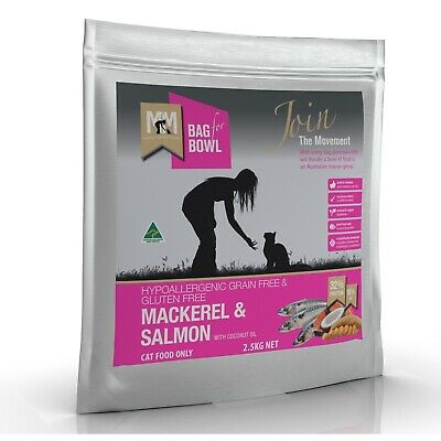 Meals for Meows Grain Free Mackeral & Salmon - Cat Food 2.5kg