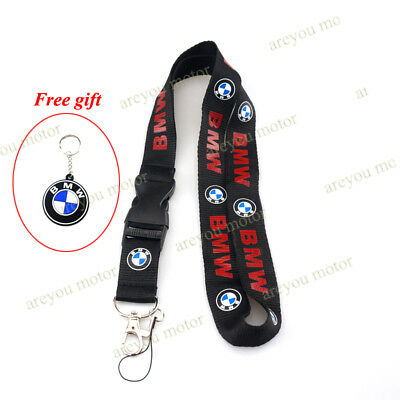Lanyard Straps Neck Keychain Phone Card Holder For BMW R1200RT F800GT S1000RR