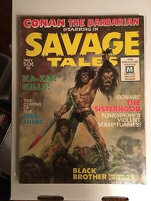 Savage Tales 1-5! Volume One! Awesome Deal!!