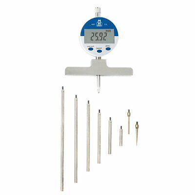 """Moore and Wright 172 Series 0-550mm (0-22"""") Digital Depth Gauge with inch to mm"""