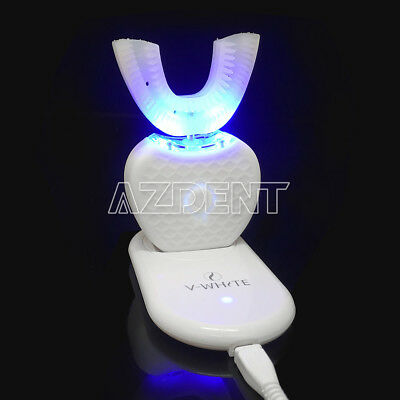 Silicon ABS Dental Automatic Electric Toothbrush Teeth Whitening Wireless USB