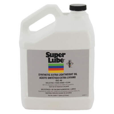 SUPER LUBE Synthetic Oil,ISO 46 ,1 Gal., 53040, Clear