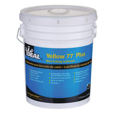 IDEAL Wire Pulling Lubricant,5 gal. Bucket,Ylw, 31-395, Yellow
