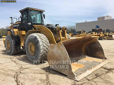 2016 CATERPILLAR 980M Wheel Loaders