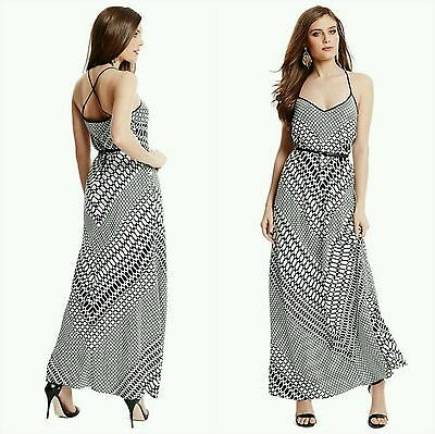 bbb2f5de50d4 NWT GUESS BY MARCIANO Lux Link Maxi Dress SIZE S -  158.99