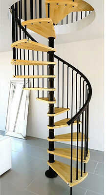 Spiral Staircase Stairs  ....1600dia ........ OAK. SERIES ( can deliver )