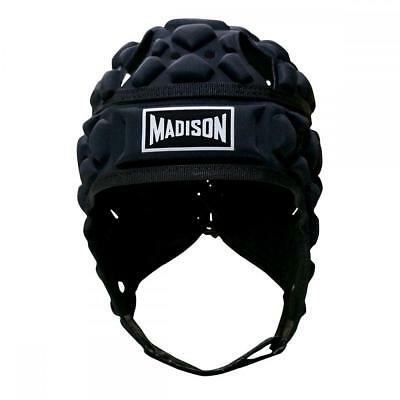 Scorpion Headguard Black For Rugby League & Rugby Union From Madison