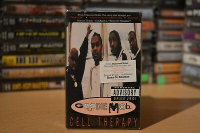 Goodie Mob - Cell Therapy / Rap Tape / Hip-Hop Kassette / USA