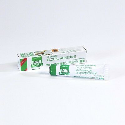 Floral Adhesive Waterproof Clear Glue 50ml Tube Smithers Oasis x 5 tubes