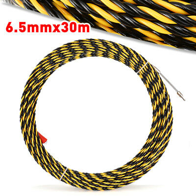 6.5mm*30m Cable Push Puller Conduit Snake Cable Rodder Fish Tape Wire Guide