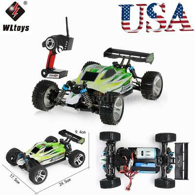 USA WLtoys A959-B 2.4G 1/18 Scale 4WD 70KM/h Electric RTR Off-road Buggy RC Car