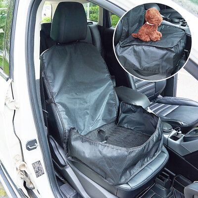Car Booster Seat Cover Puppy Cat Dog Pet Carrier Travel Protector Safety Basket