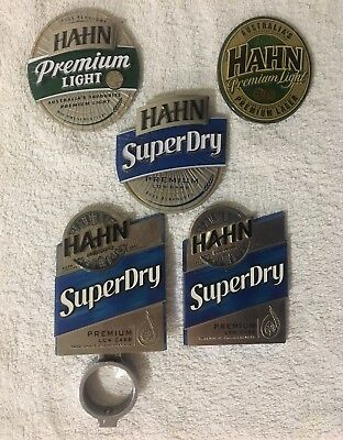 Hahn Superdry, Premium Light Tap Beer Decal Badge Retro and New Top Mancave Rare
