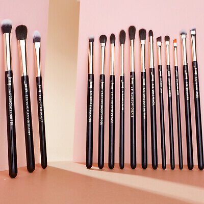 AU Jessup Professional 15Pcs Eye Makeup Brushes Set Tool  Eyeliner Blending Lip