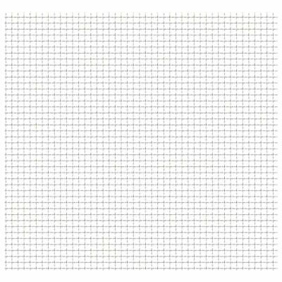 vidaXL Stainless Steel Crimped Fence Wire Mesh Panel Barrier Pets Chicken Coop