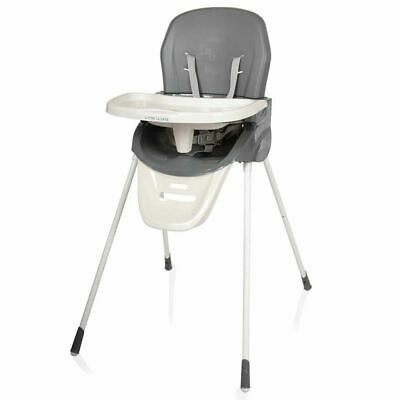 Little World High Chair Lewis Grey Baby Toddler Child Feeding Seat LWDT001-GY