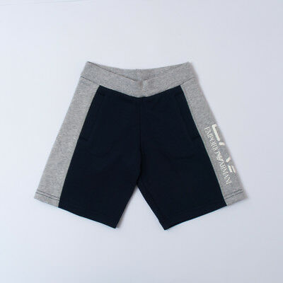 """Short Color Grey And Blue With Logo Boy For Kid (6/12Y) """"ea7"""" 3Zbs53 2018 [-50%]"""