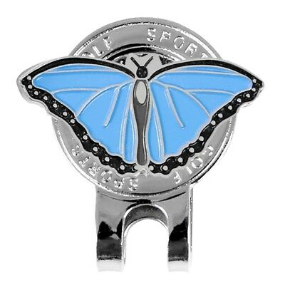 Butterfly Pro Ladies Metal Magnetic Cap Clip For Golf Ball Marker Accessories