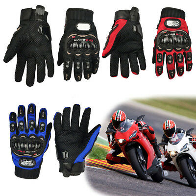 Unisex Adults Motorcycle Gloves Racing Riding Motor Cycling Protective Mittens