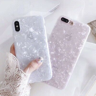XHCOMPANY Fashion Conch Shell Phone Case for Iphone 6S Case for Apple Iphone X 6