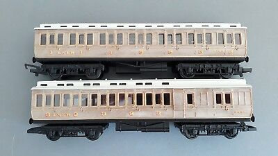 Hornby Lner Clerestory Coaches X 2 Ex-Set Very Good Unboxed Oo Gauge(Db)
