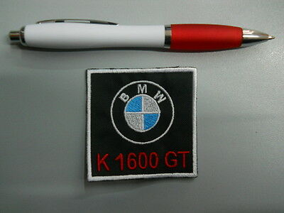patch correctif BMW MOTORRAD K 1600 GT broderie bordé thermo-collant 6x6