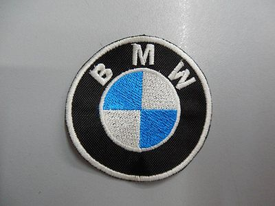 BMW Emblem Patch Emblem Embroidery Embroidered Thermoadhesive Diameter 15 cm 5