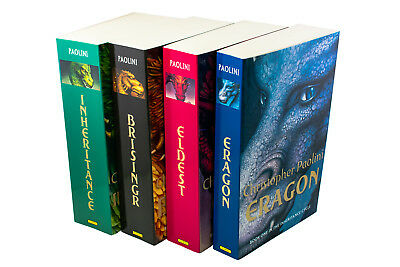 Christopher Paolini Inheritance Cycle Collection 4 Book Set, Eragon, Eldest, Inh
