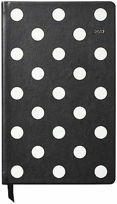 Kate Spade Pencil It in 12 Month Deco Dot Agenda Planner Calendar 2017