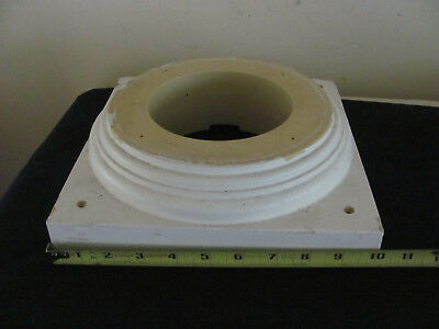 Tapered Column CAP AND BASE SET USED
