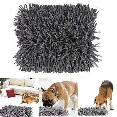 Pet Snuffle Mat Dog Cat Food Mat Pressure Relieving Nosework Training Blanket