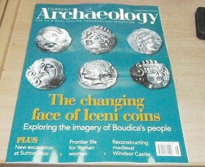 Current Archaeology magazine #341 Aug 2018 Iceni Coins Boudica's people & more