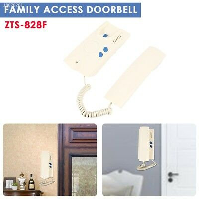 Two Wires 220V Durable Unlock Two-Way Conversation Door Bell E43D78A