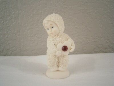 Dept 56 Snowbabies Figurine My Heart Shines for You Ruby Red July Birthstone