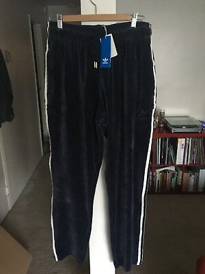 338d8697f68 Adidas Originals Velour Superstar Track Pants L Legend Ink Track Suit
