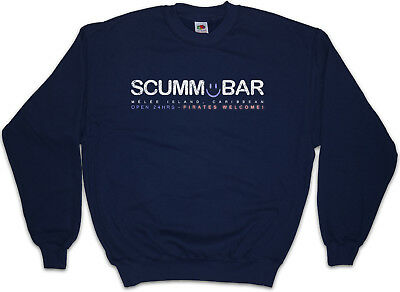 SCUMM BAR Sweatshirt Pullover The Secret Game of Monkey Escape From Island