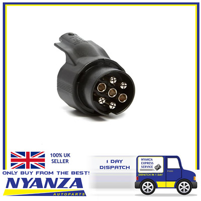 Maypole 7 To 13 Pin N Type Caravan Trailer Conversion Adaptor 12 V Mp600