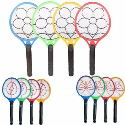 Portable Electronic Mosquito Trap Swatter Insect Pest Bug Fly Mosquito Zapper Sw