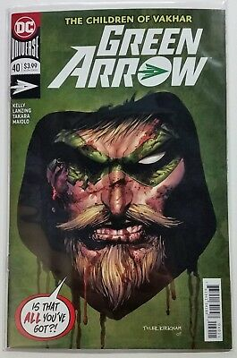 Green Arrow 40 Tyler Kirkham Regular Cover A DC Comics 2018 Emerald Archer CW NM
