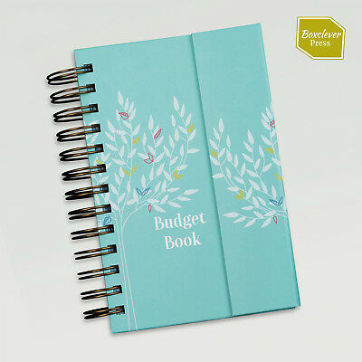 Boxclever Press Budget Book. Monthly bill accounts organiser.