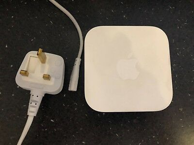 Apple AirPort Express 802.11n Wi-Fi Router (Model: MC414B/A) 2nd Generation