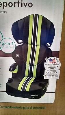 Evenflo Big Kid Booster Car Seat Up To 110Lbs New In Box Free Shipping