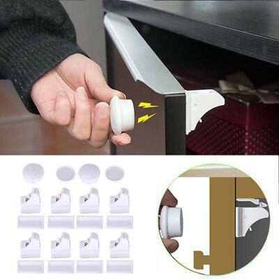Magnetic Cabinet Lock Baby Safety Drawer Locks Security Cupboard Childproof Lock