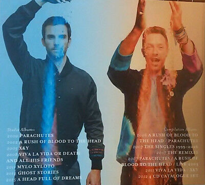 Coldplay – Greatest Hits Best songs Collection Music  CD SET