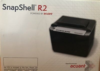 NEW ACUANT / ScanShell / SNAPSHELL R2  w/ iDscan Software with License Key