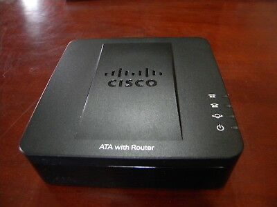 Cisco SPA122 ATA with Router Telephone Adapter/WITH AC ADAPTER