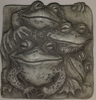 Telle M. Stein © 2000 Four Frogs Wall Plaque Wall Hanging