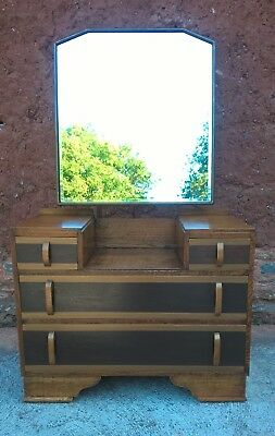 Gorgeous Upcycled Art Deco Dressing Table - Vintage Dressing Table