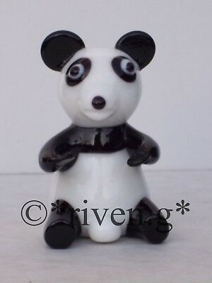 Giant Panda Figurine@endangered Species Chinese Symbol@favourite Forest Bears